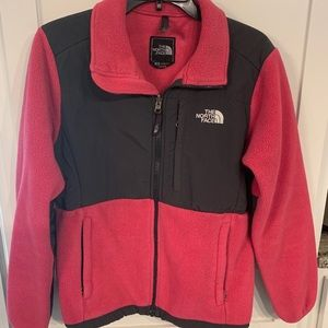 North face Denali pink jacket